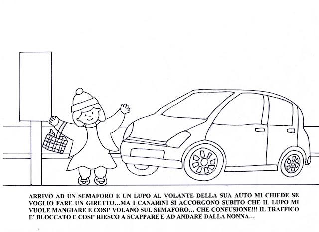 Maestra Mariangela: I QUATTRO CAPPUCCETTI : ROSSO,GIALLO ...