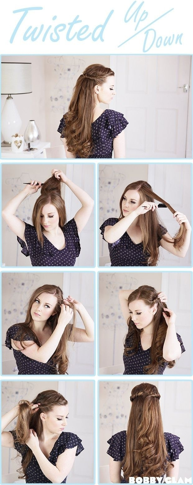 Top 50 Most Popular Bridal Hairstyles Tutorial 2015 for Teen Girls