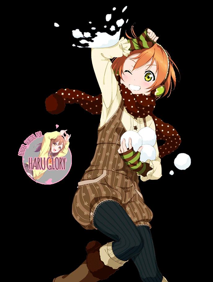 Hoshizora Rin 22 (navidad)