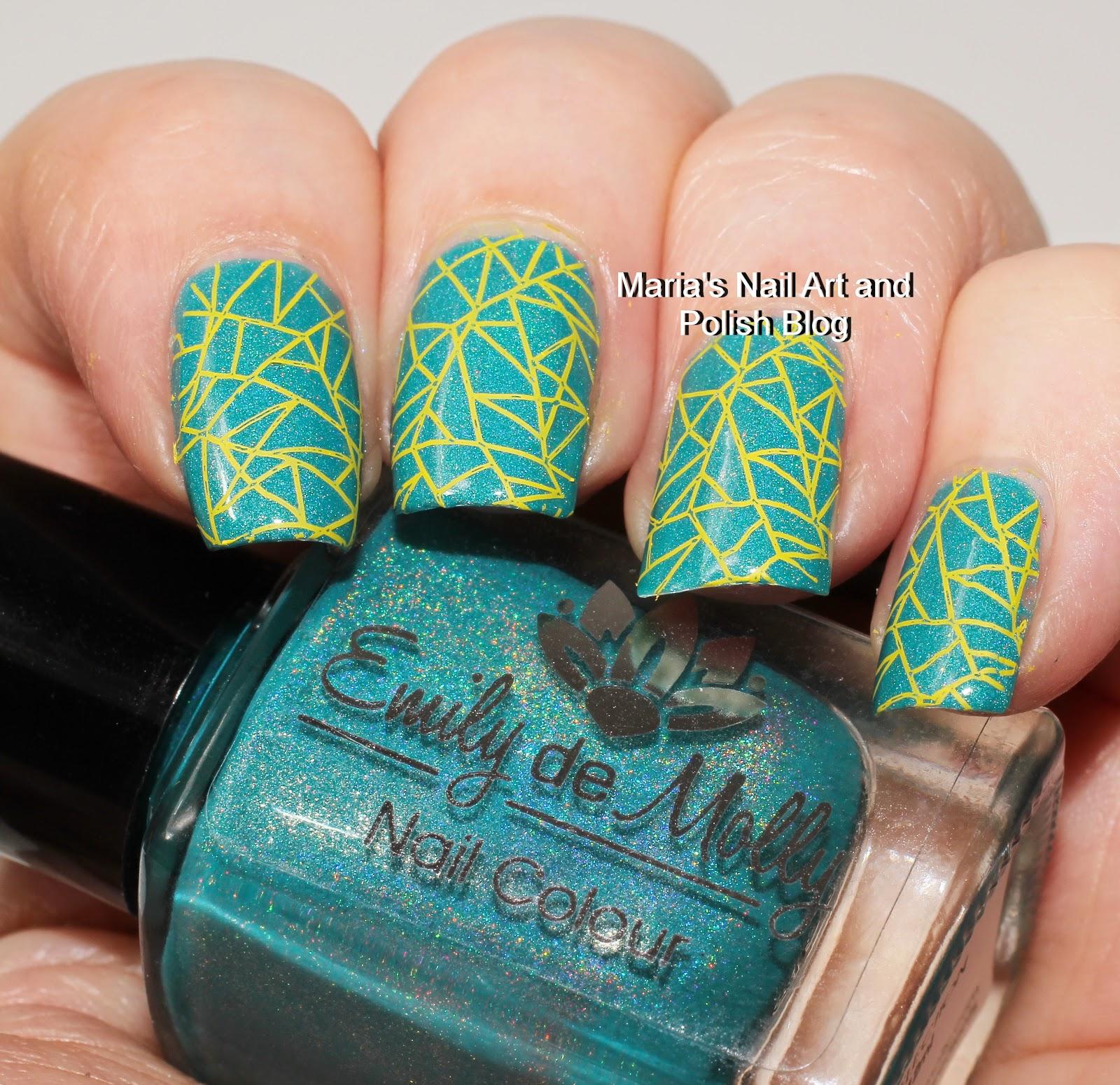 Marias Nail Art and Polish Blog: My stamping journey - part 24