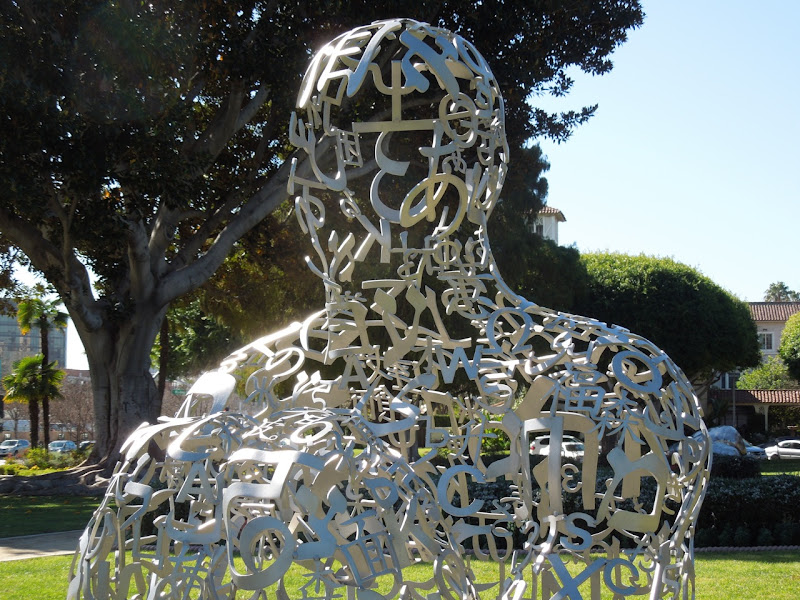 Endless V Jaume Plensa sculpture