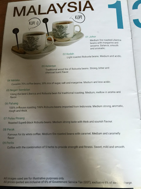 Malacca Best Cafe Guide - Calanthe Art Cafe Menu