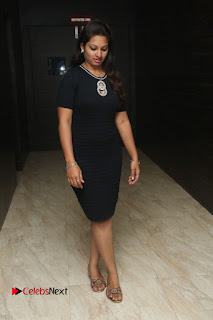 Actress Jyo Stills in Black Short Dress at Dwaraka Movie Audio Launch 0001