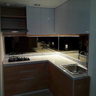 Contoh Gambar Kitchen Set Minimalis Apartemen
