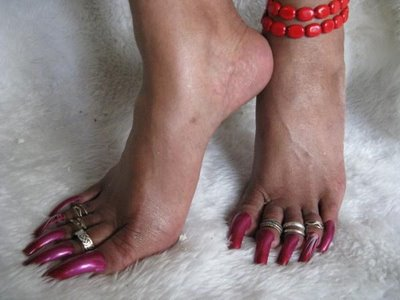 Long Fingernails and Toenails - Bing images