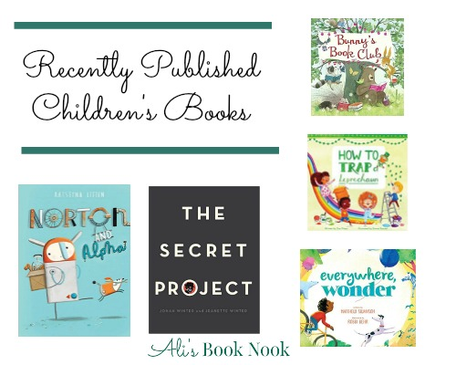 Delightful recently published books kids will love