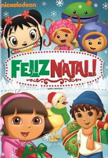 baixar capa Feliz Natal   Nickelodeon   DVDRip AVI + RMVB Dublado