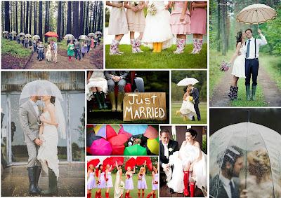 idées photos mariage pluvieux