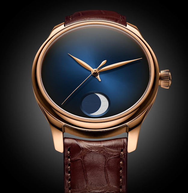 H. Moser & Cie. Endeavour Perpetual Moon Concept in red gold