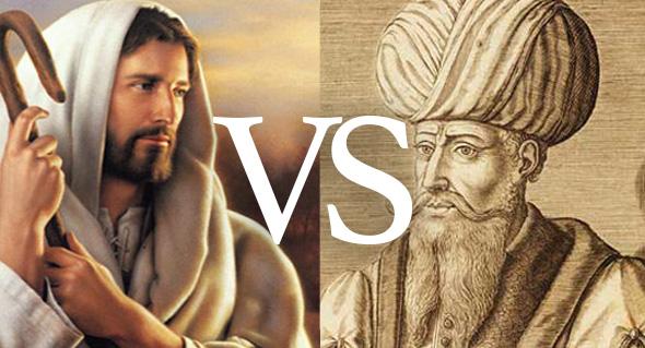 jesus versus mahoma
