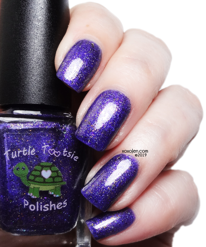 xoxoJen's swatch of Turtle Tootsie - Jack The Pumpkin King