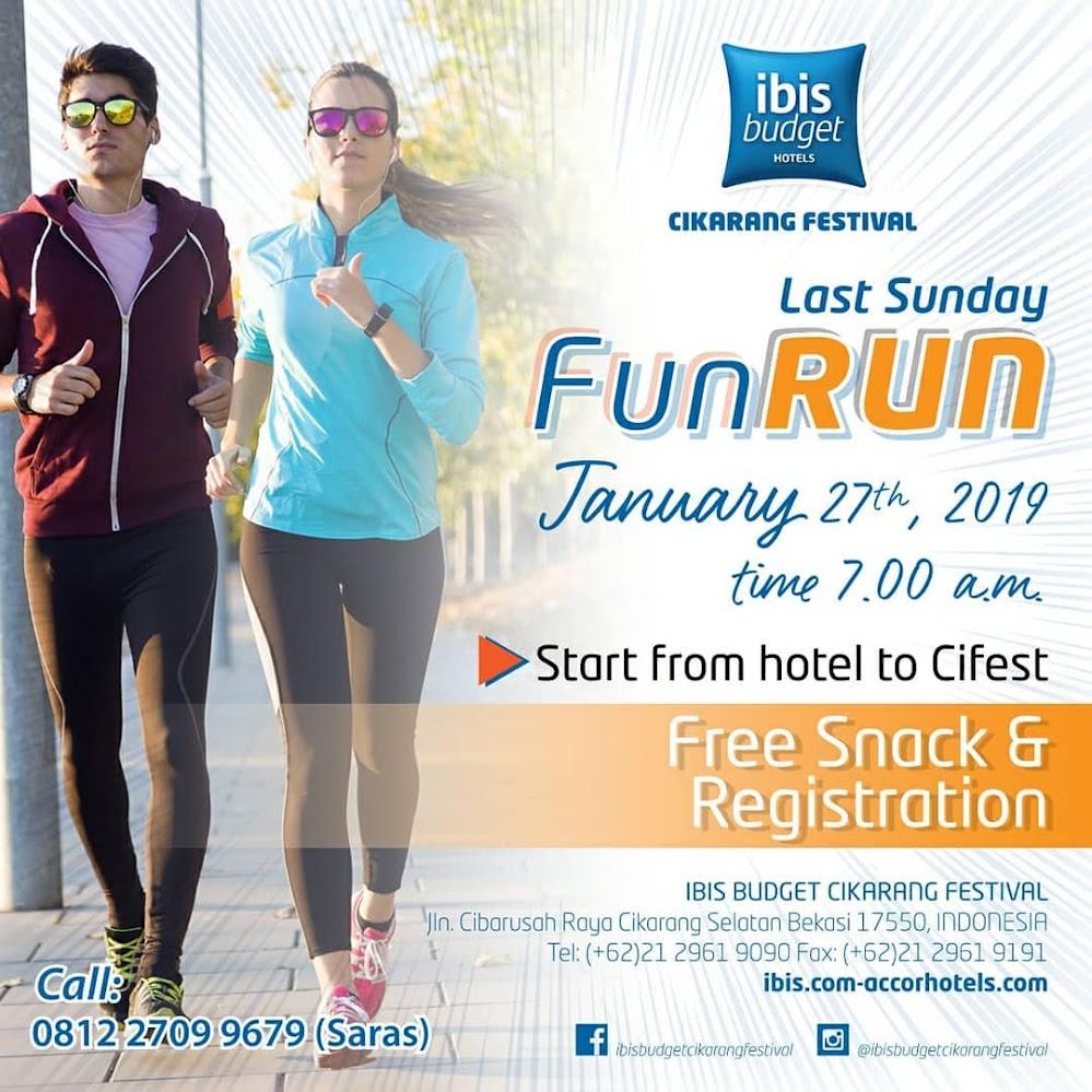 Ibis Budget Cikarang - Last Sunday Fun Run • 2019
