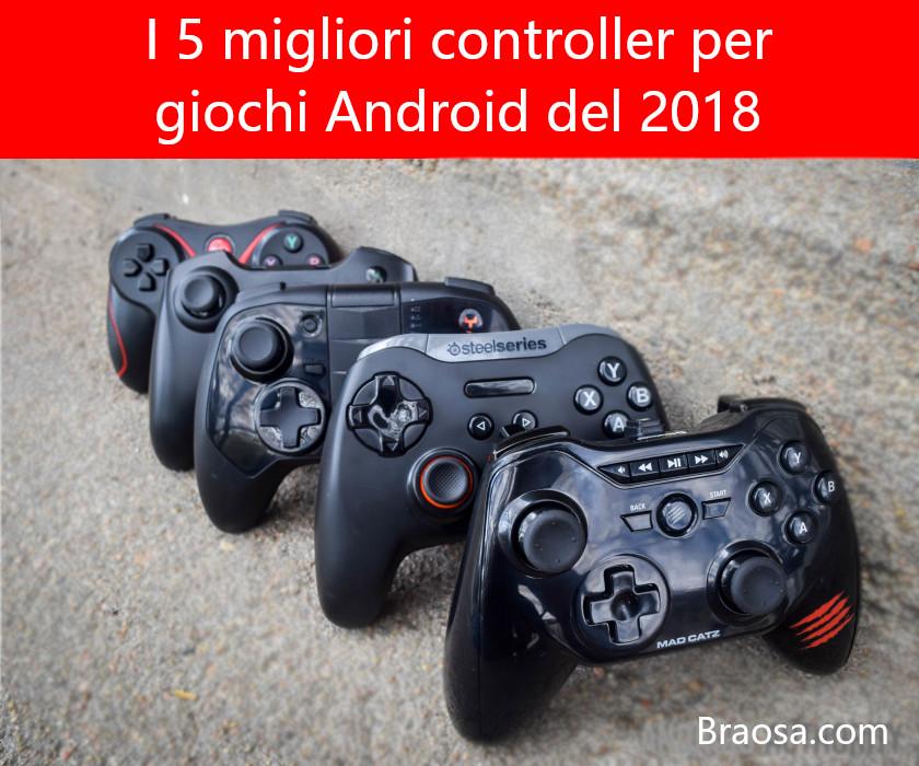 I migliori controller per giochi Android del 2018