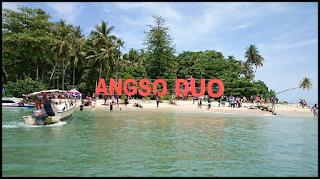 Objek Wisata Pulau Angso Duo Padang Pariaman