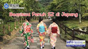 Beasiswa Penuh S2 di Prefektur Aichi Jepang