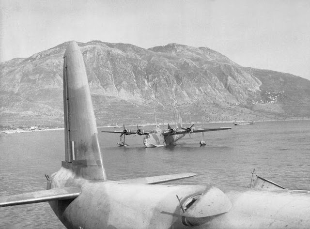 28 April 1941 worldwartwo.filminspector.com Short Sunderland Flying Boats