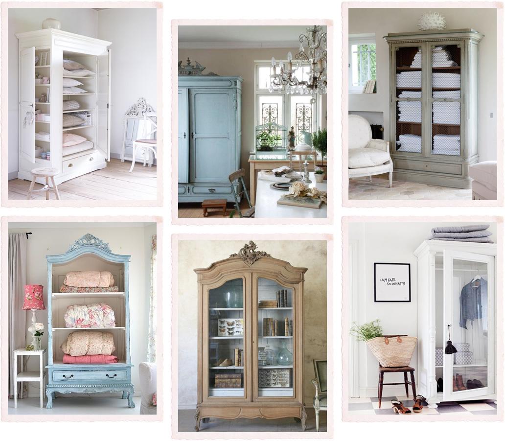 Un armadio tante funzioni shabby chic interiors for Mobili shabby ikea