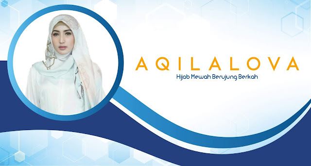 Download Banner Jilbab Muslimah Format CorelDRAW Free Download
