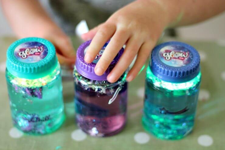 So Glow DIY Magic Jars