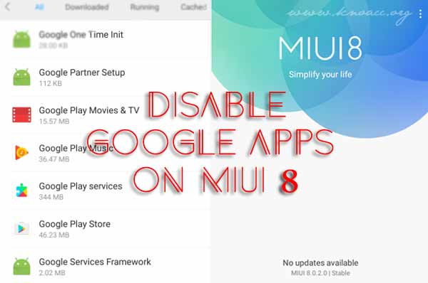 Disable Aplikasi Google dan Bloatware