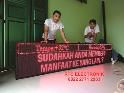 running teks led, running text display, tulisan led berjalan, tulisan led, led tulisan berjalan, videotron indonesia, running text online,