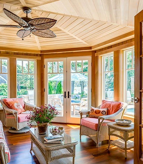 Coral Sunroom