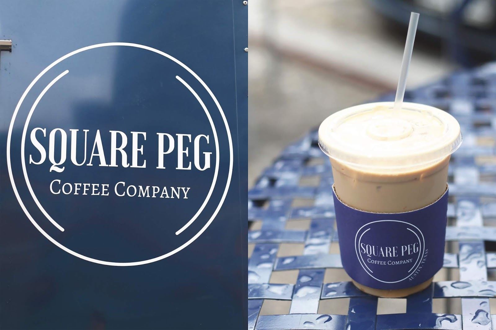 Square Peg Austin, Iced Coffee, Cozy Coffee Shop, Coffee Shops Vibe