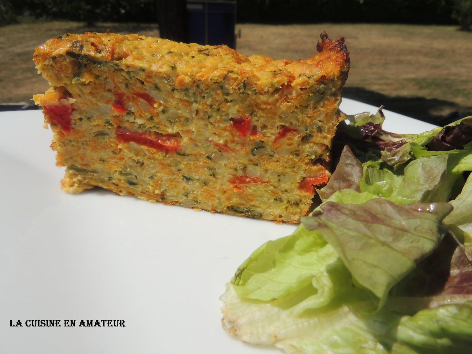 La cuisine en amateur de maryline terrine de l gumes - Terrine de legumes facile et rapide ...
