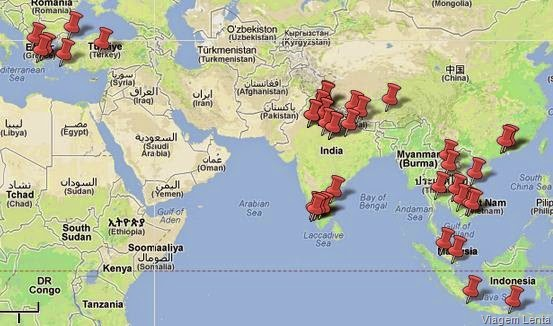 Mapa Roteiro Geral