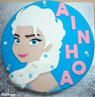 Tarta Elsa de Frozen-Bulalaica