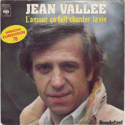 Jean Vallée / Eurovision 1978 / L'amour ça fait chanter la vie