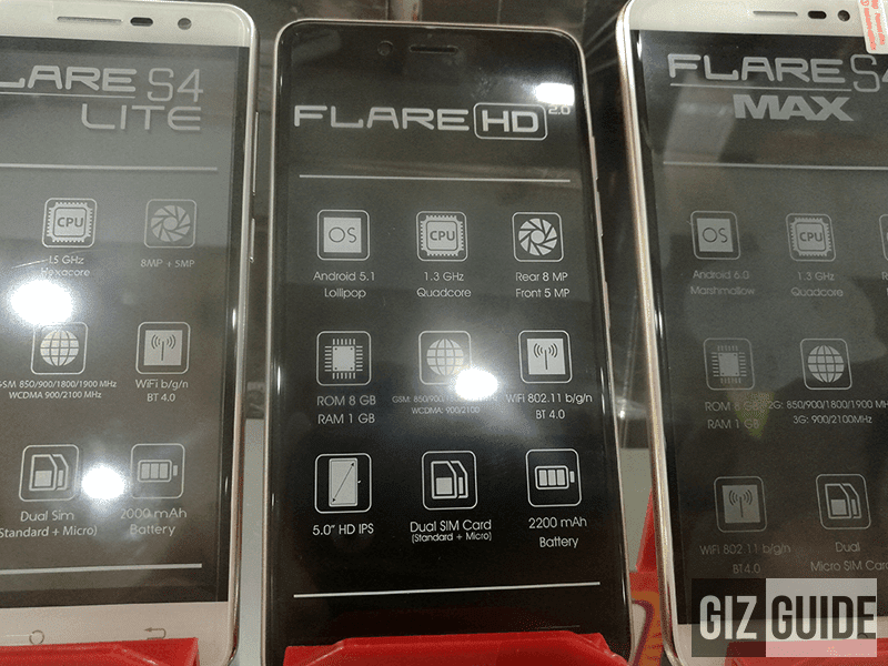 Flare HD 2.0 at SM Megamall