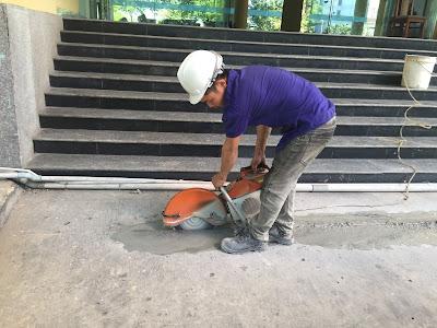 Khoan cắt bê tông tại phường Bình Thọ