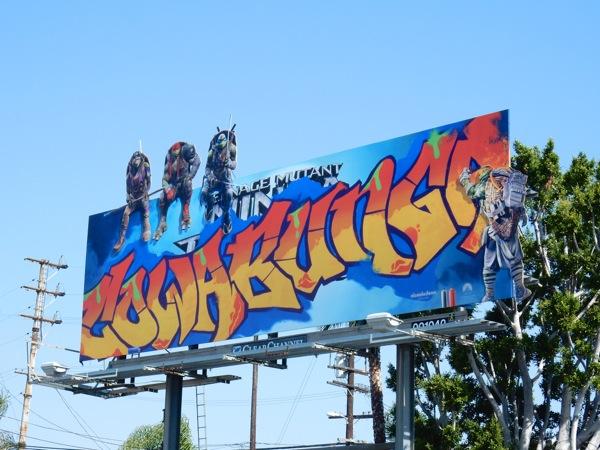 Teenage Mutant Ninja Turtles Cowabunga billboard