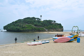 Pulau Karang Pantai Drini