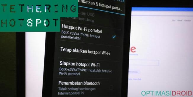 Cara Ubah Android Menjadi Modem