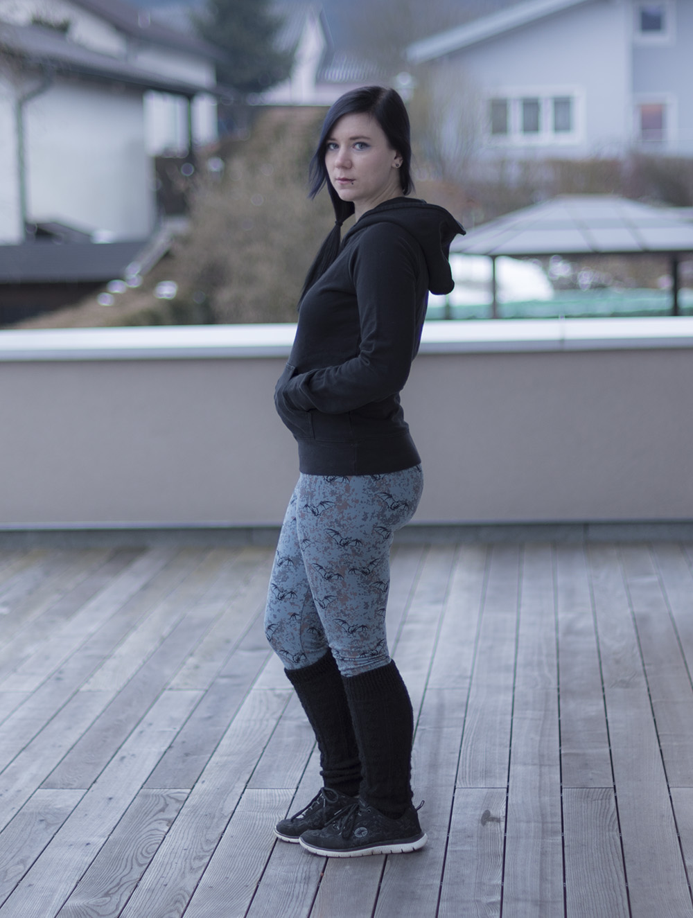 sewing penny leggings sinclair patterns style inspiration ideas comfy hoodie legwarmers winter cold pullover