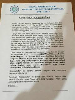 Nelayan Tuntut Inpres No 7 Tahun 2016