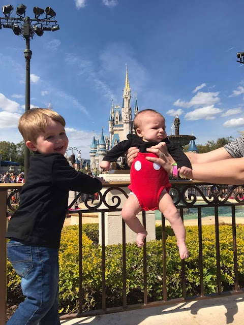 Infant Disney World Three Month Baby Pictures