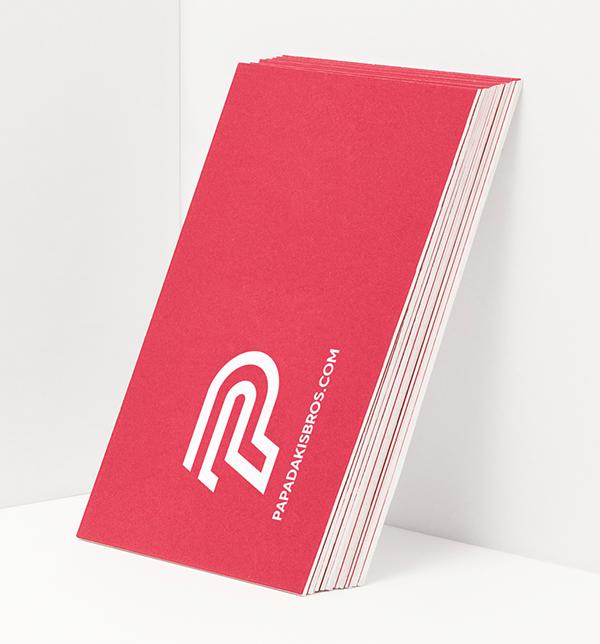 Inspirasi Desain Branding Identity - Papadakis Bros Branding