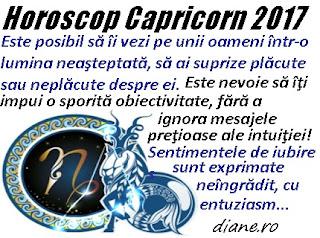 Horoscop 2017 Capricorn