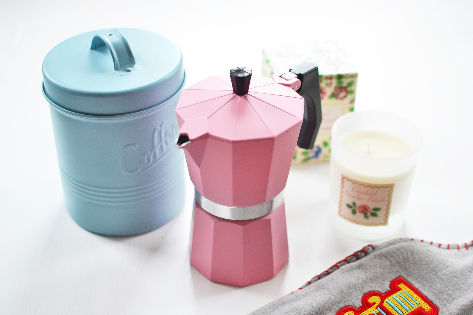 pink coffee pot
