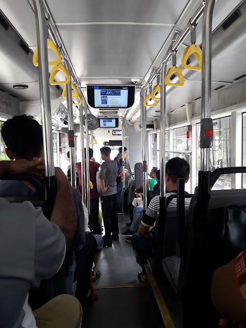 Naik Bus Gratis GOKL di Kualalumpur