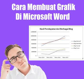 membuat grafik dimicrosoft word