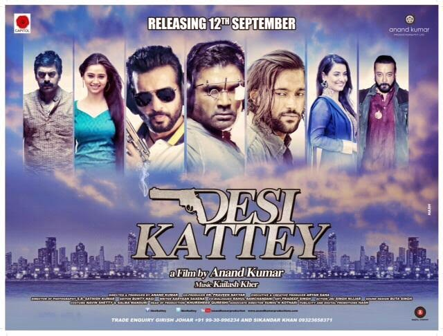 Desi Kattey 2014 720p WEB HDRip 950mb Bollywood movie Desi Kattey 720p hdrip free download or watch online at https://world4ufree.ws