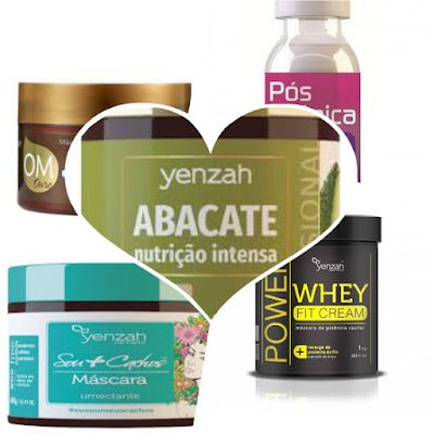 produtos yenzah liberados low poo