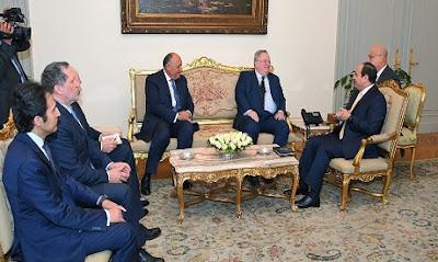 الرئيس السيسي يستقبل وزير الخارجية اليوناني لمناقشة تعزيز التعاون الثنائي