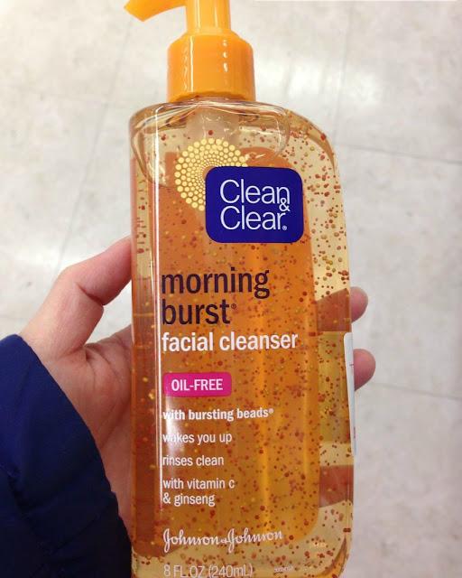 đánh giá Sữa rửa mặt Clear And Clear Morning Burst cảm nhận