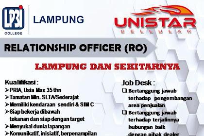 Lowongan Kerja LP3I Lampung Oktober 2018