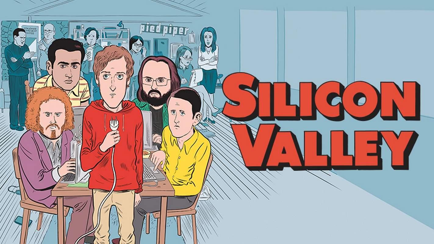Póster de la cuarta temporada de 'Silicon Valley'